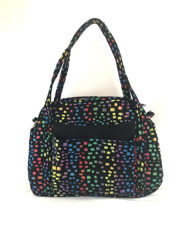 Holly Bag in Rainbow Mosaic Tapestry