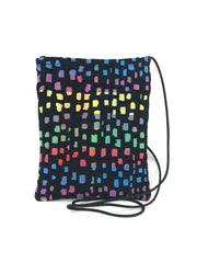 Patch Purse in Rainbow Mosaic