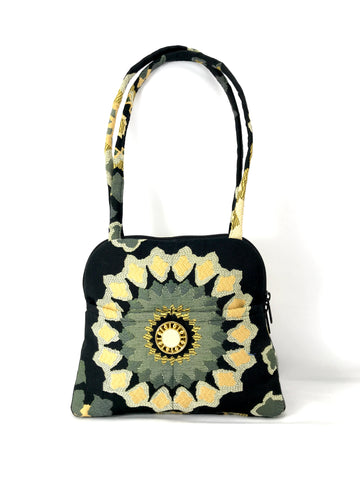 Evita Grande Bag in Bold Burst Tapestry