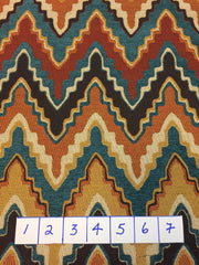 Southwest Zig-Zag Tapestry Fabric