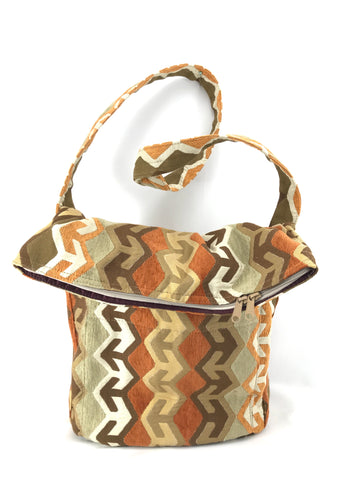 Sack Purse in Southwest Arrow Tapestry