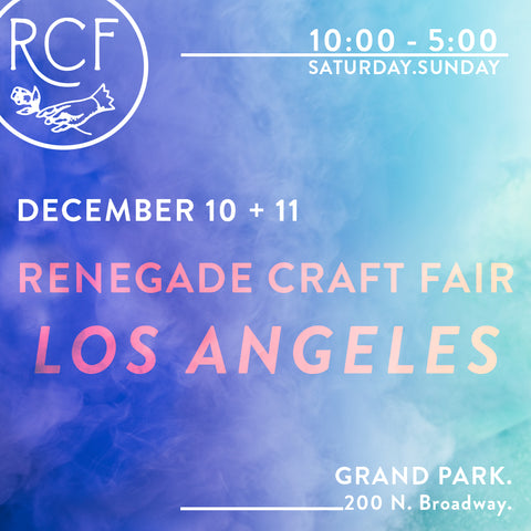 Renegade Craft Fair Los Angeles