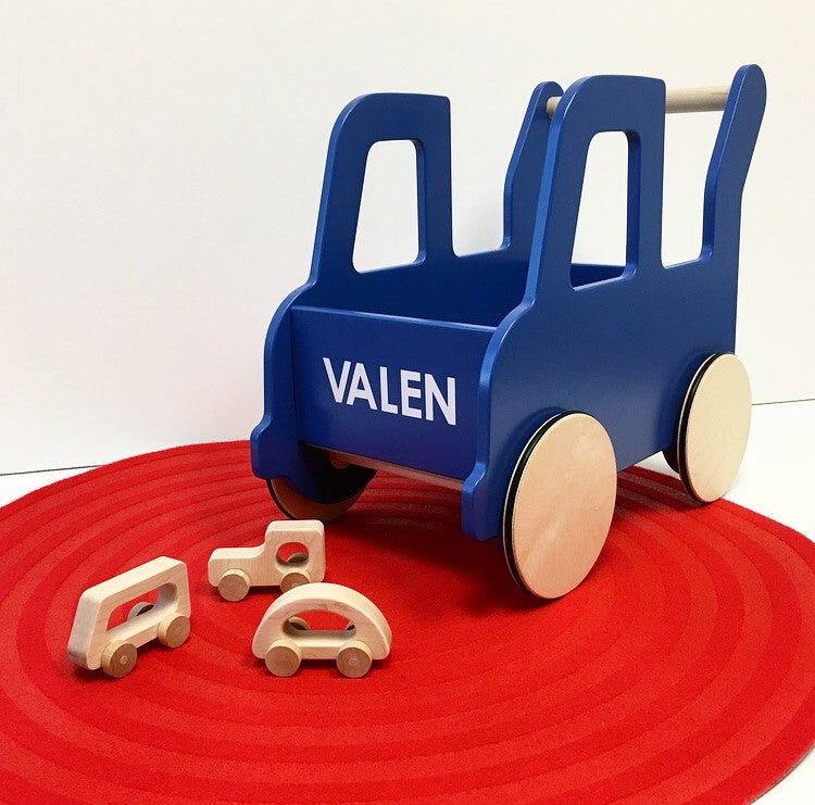 Personalized Truck Push Cart