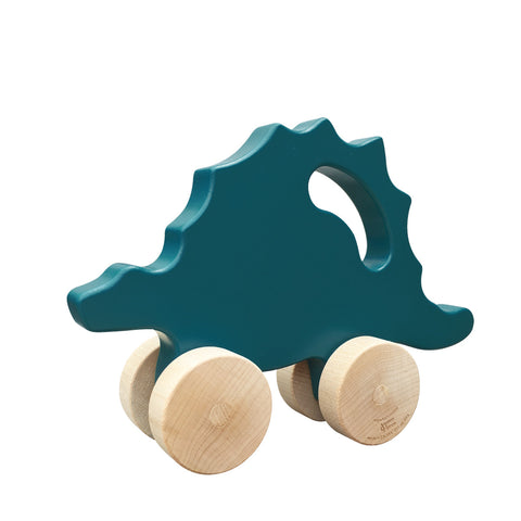 Stegosaurus Push Toy