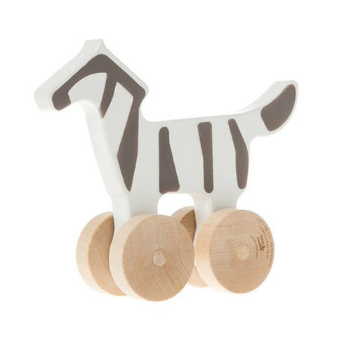 Zebra Push Toy