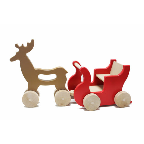 Reindeer and Sleigh Set
