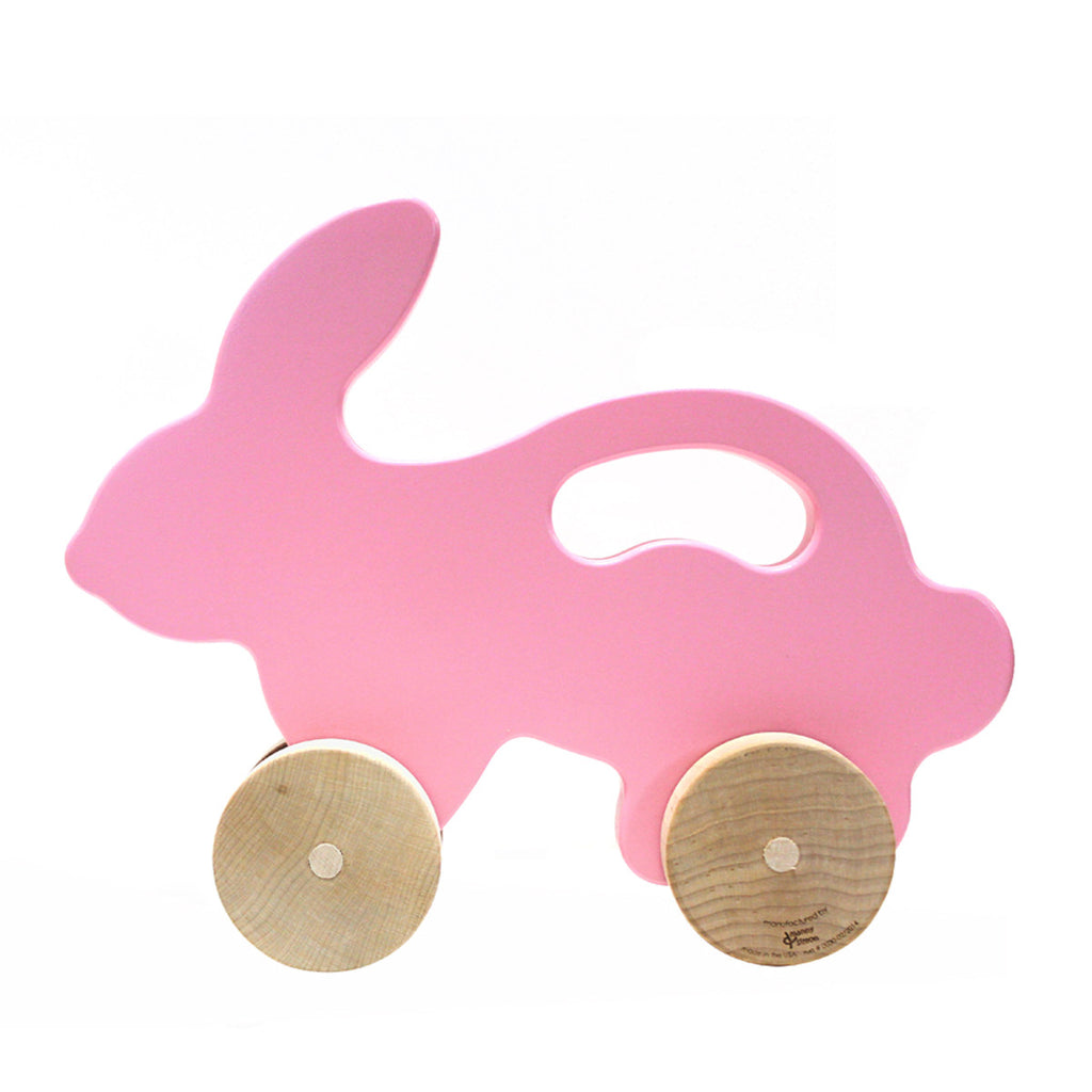 Bunny Push Toy, Pink