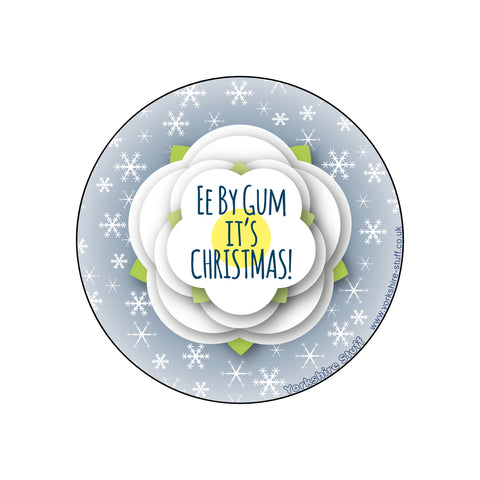 Ee By Gum it's Christmas Pocket Mirror