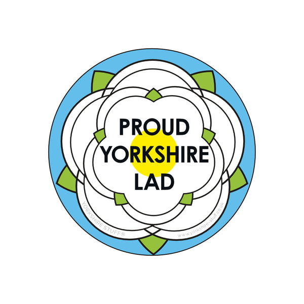 Yorkshire Lad Bottle Opener / Fridge Magnet