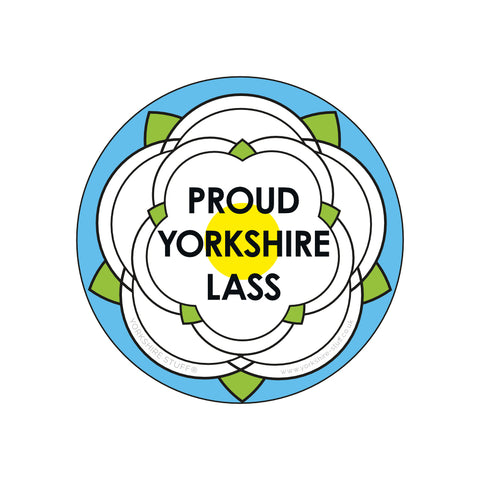Yorkshire Lass Bottle Opener / Fridge Magnet