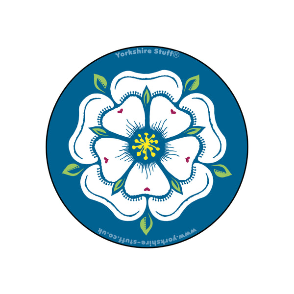 Yorkshire Rose Bottle Opener / Fridge Magnet