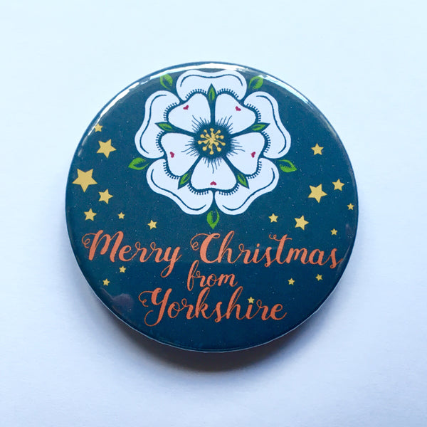 Merry Christmas from Yorkshire Bottle Opener / Fridge Magnet