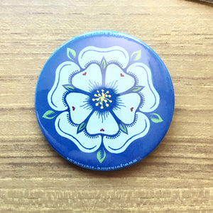 White Rose Badge