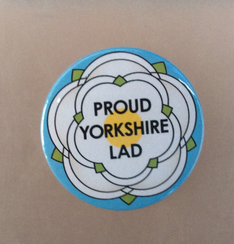Proud Yorkshire Lad Badge