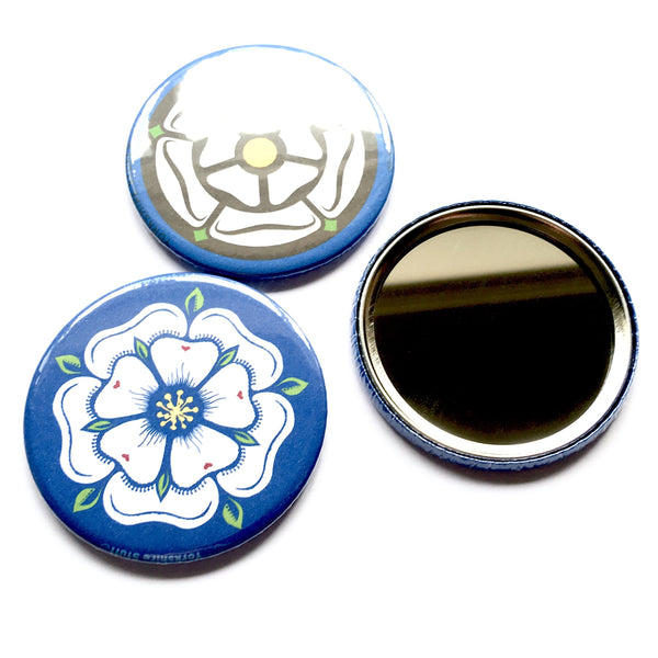 Yorkshire Rose Mirror