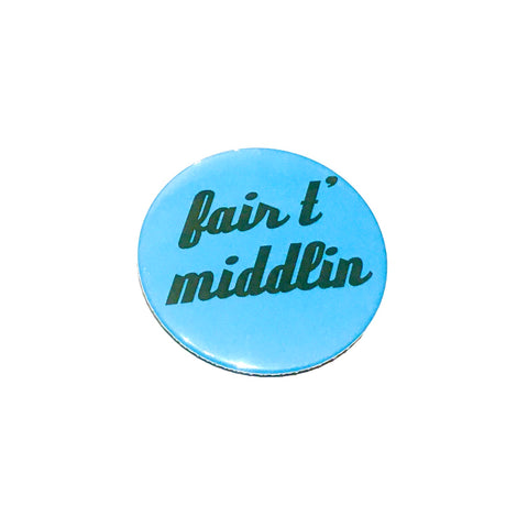 Fair t' Middlin Badge