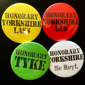 Honorary Yorkshire Badges