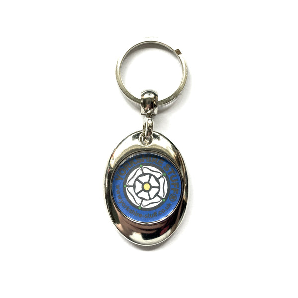 Yorkshire Rose Keyring