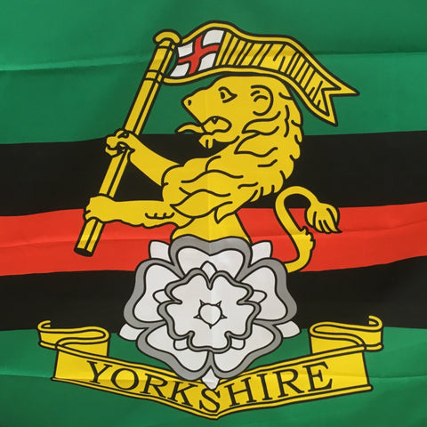 Yorkshire Regiment Flag 5ft x 3ft