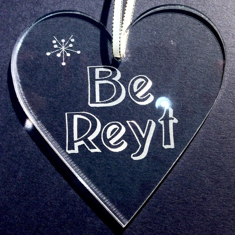 Be Reyt Christmas Tree Ornament