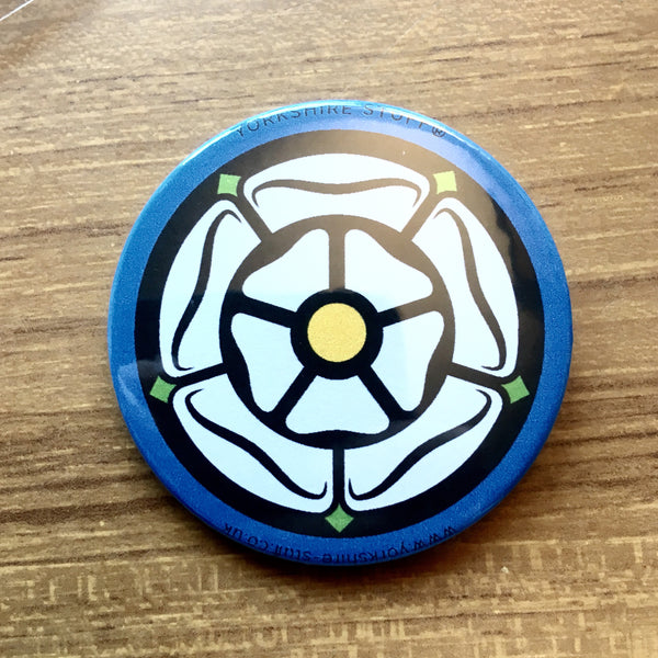 Yorkshire Rose Badge