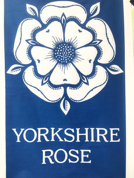 Yorkshire Rose Tea Towel