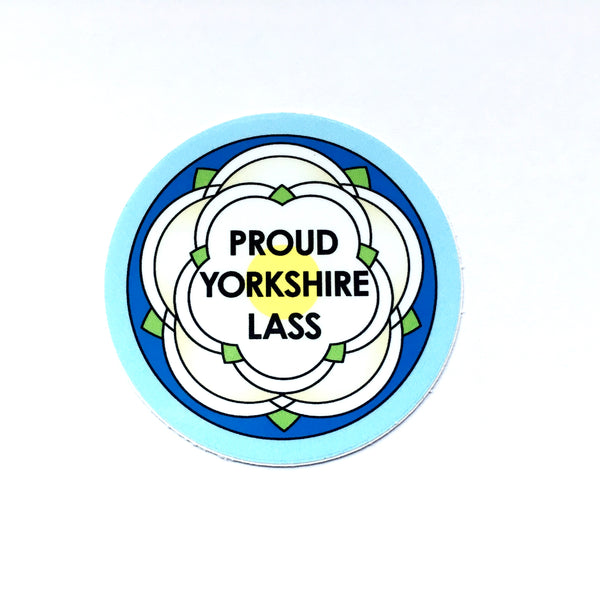Yorkshire Stickers for bumpers, caravans, laptops, notebooks etc.