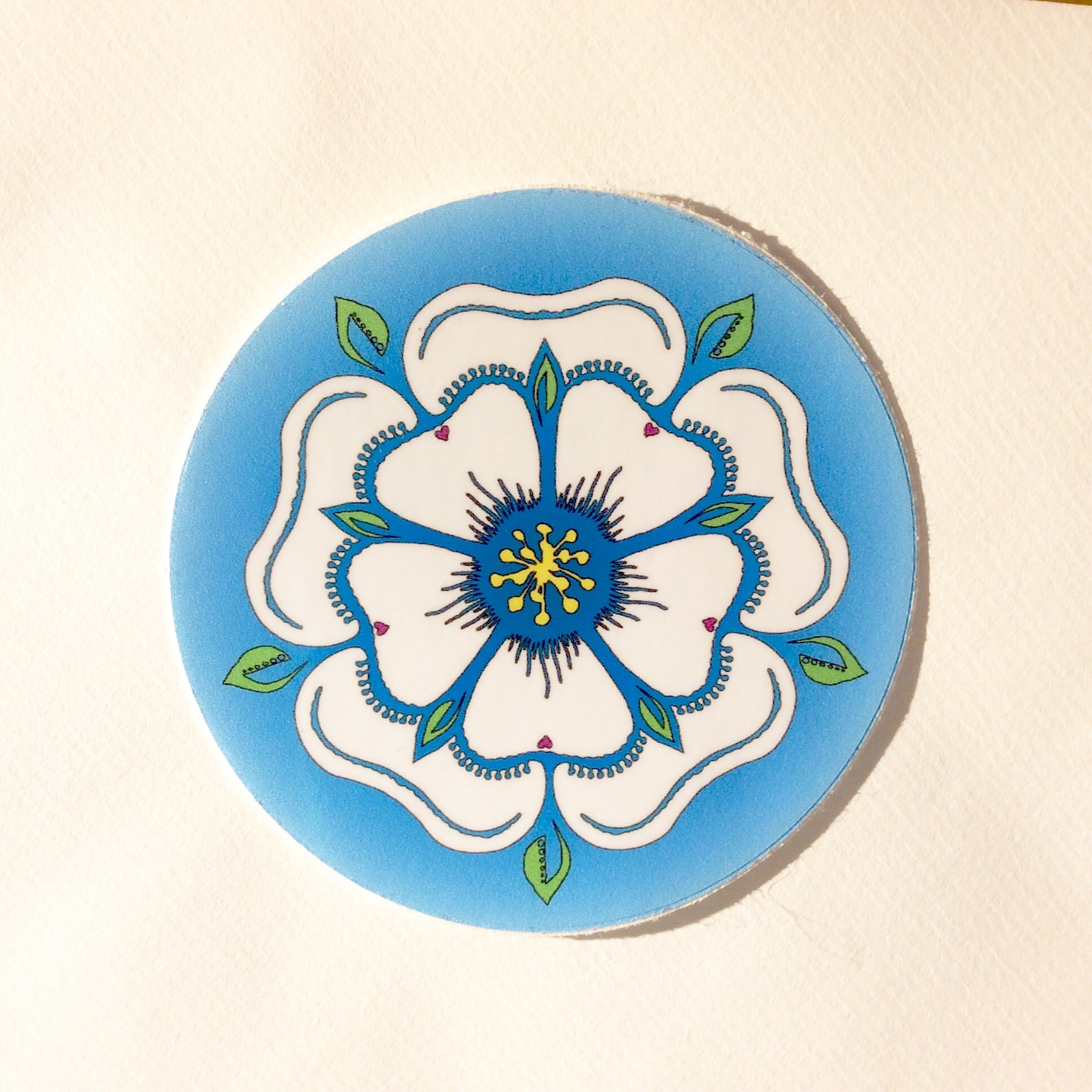 Yorkshire Rose Sticker