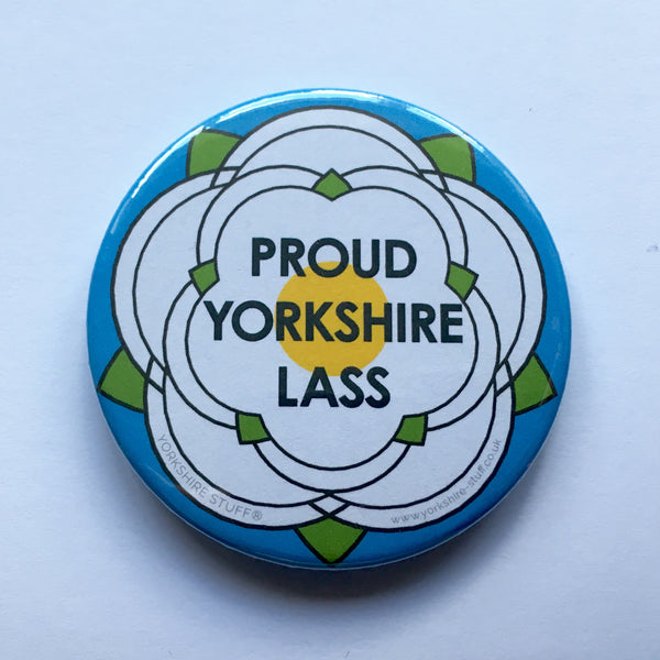 Proud Yorkshire Lass Pocket Mirror