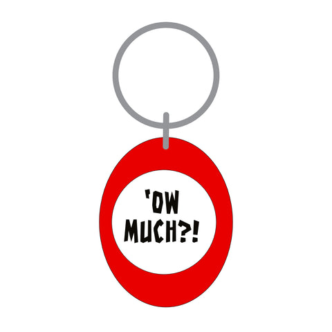 Ow Much Keyring