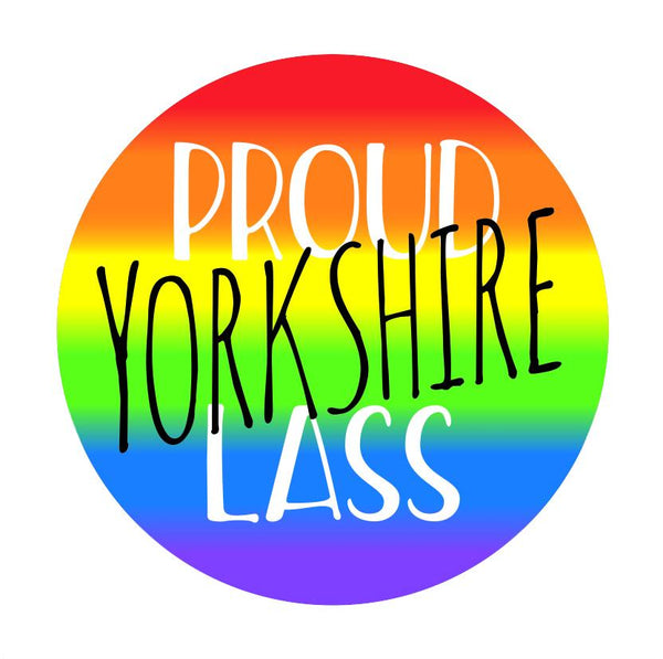 LGBTQAI+ Yorkshire Pride Badges