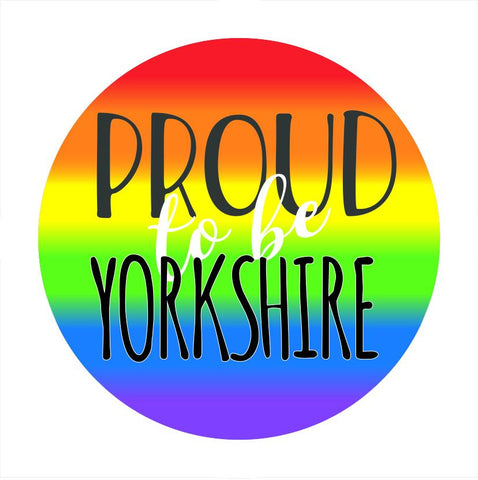LGBTQ+ Yorkshire Pride Badges