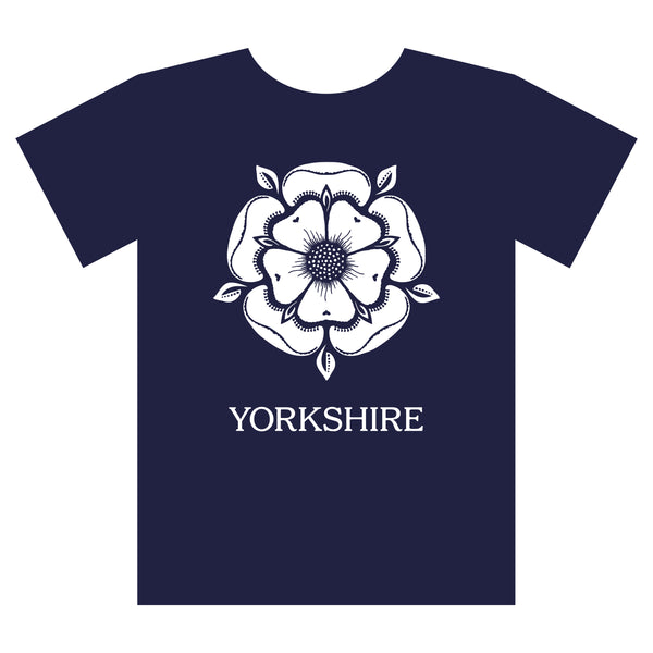 Yorkshire Rose T shirt
