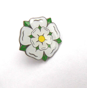 Yorkshire rose pin