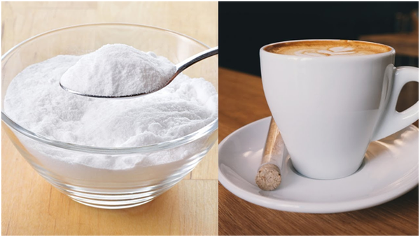 Adding baking soda to coffee