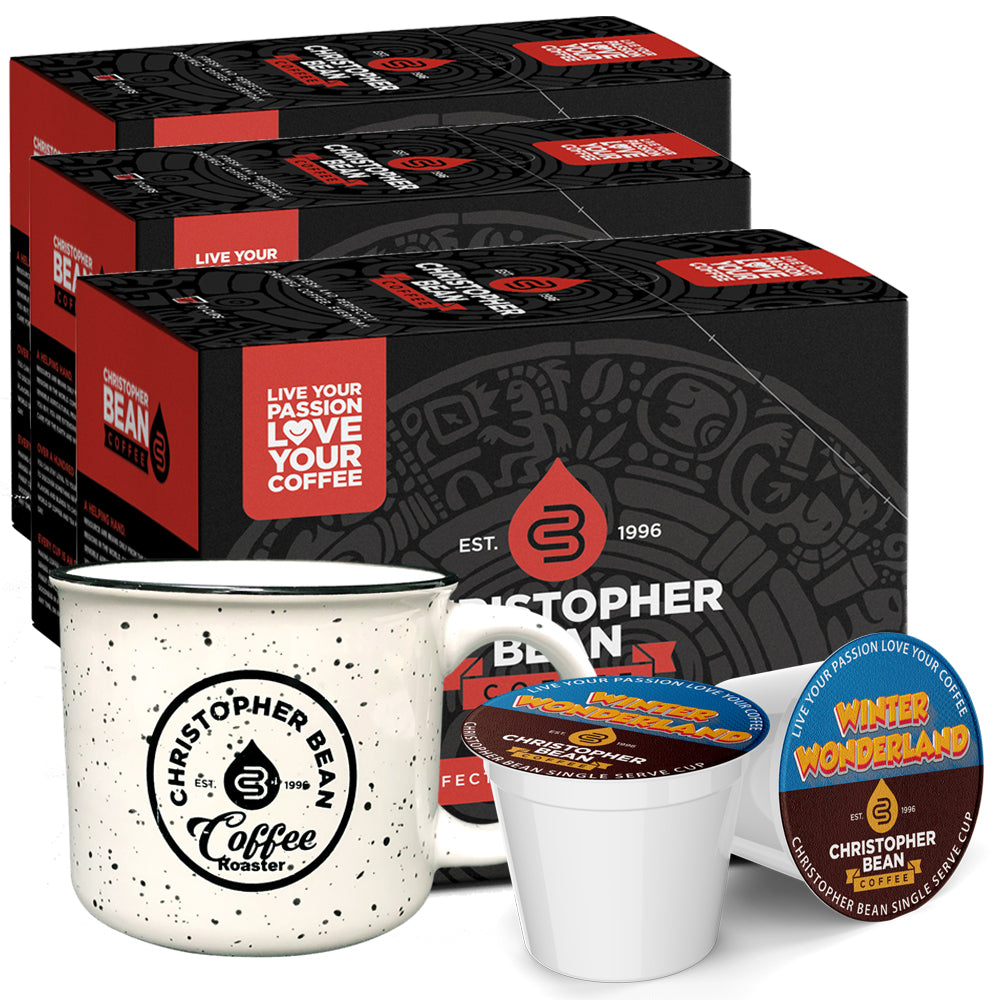 Single Cup & Campfire Mug Gift Set 3 Box 1 Mug (Free Shipping)