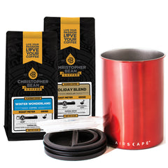 Coffee & Storage Canister Gift Set 2 Bags (Free Shipping)