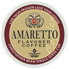 Amaretto Single Cup ( New 18 Count Box)