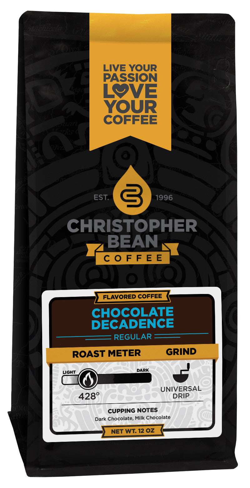 Chocolate Decadence Flavored Coffee – Christopher Bean Coffee Company