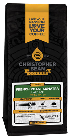 French Roast Sumatra Half Caf