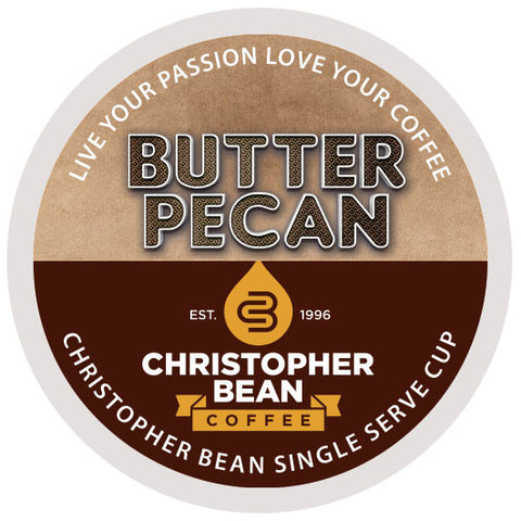 Butter Pecan Single Cup - Handcrafted Artesian Specialty Gourmet And Flavored Coffee