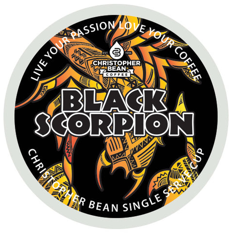Black Scorpion Single Cup (New 18 Count)