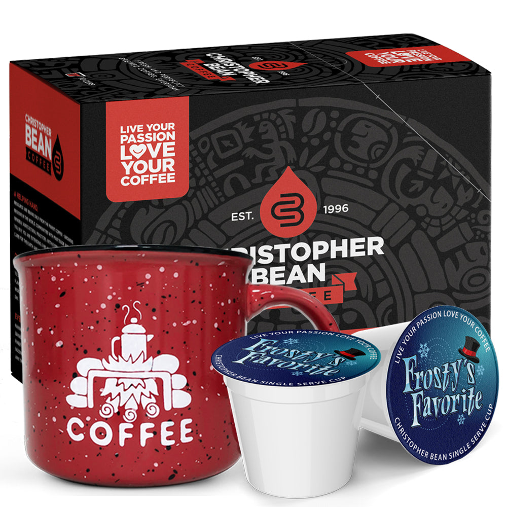 Single Cup & Campfire Mug Gift Set 1 Box 1 Mug (Free Shipping)