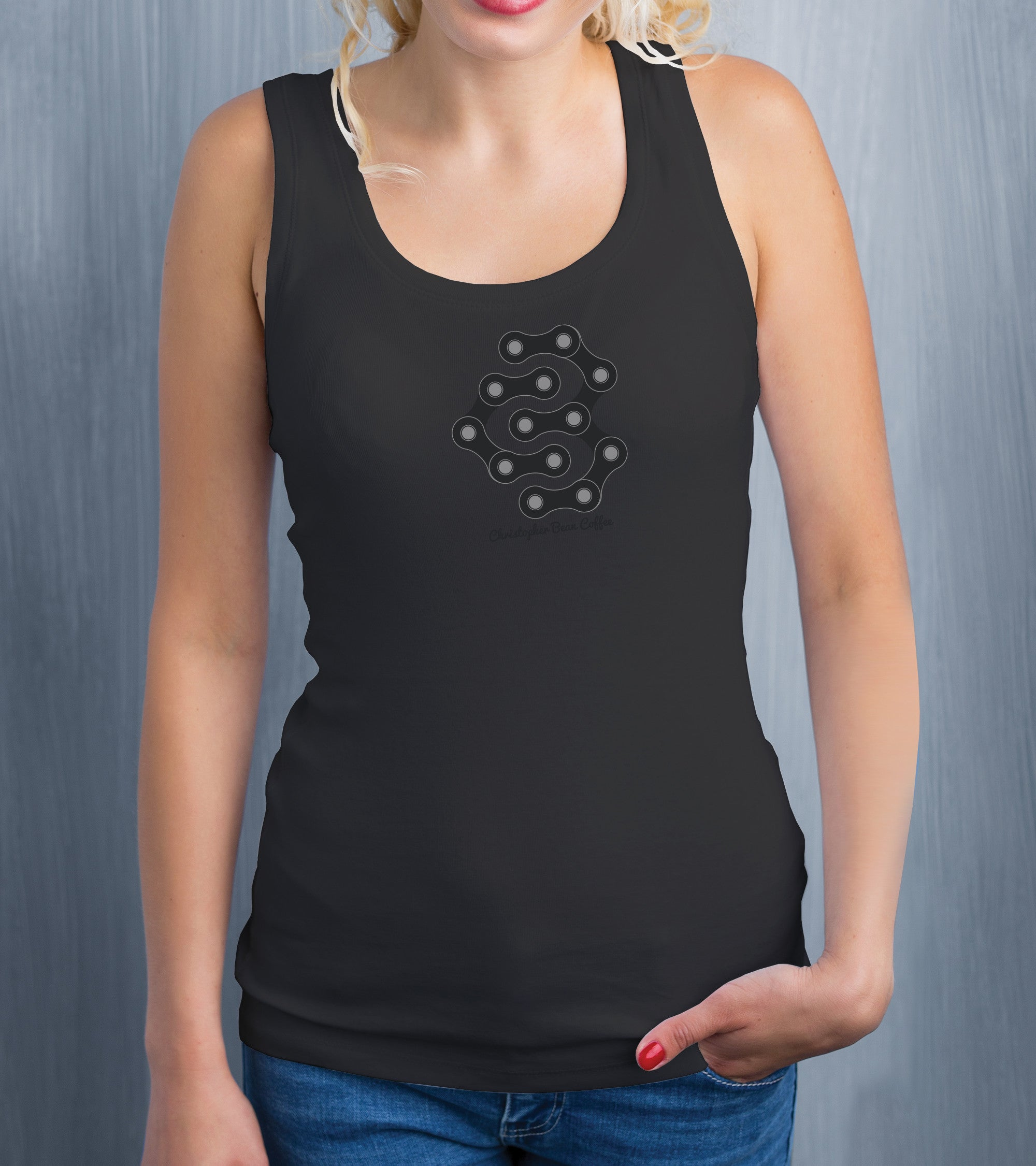 Ladies Off The Chain CB Design Tank Top