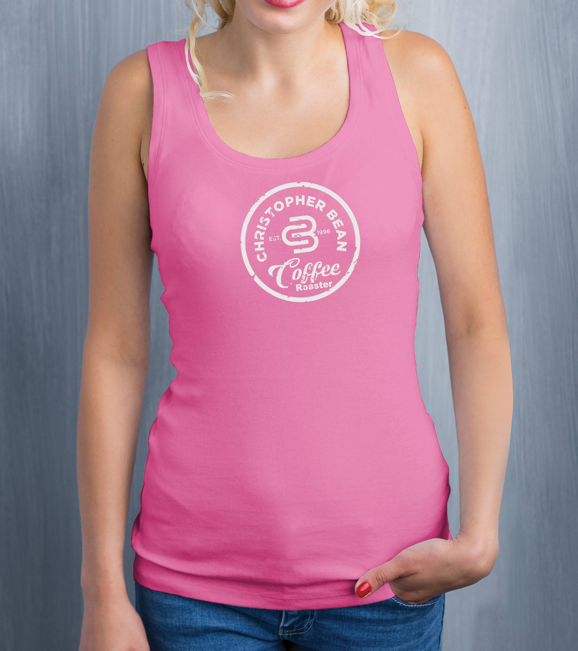 Ladies Since 1996 Coffee Roaster Tank Top