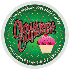 Christmas Cupcake Single Cup (New 18 Count)