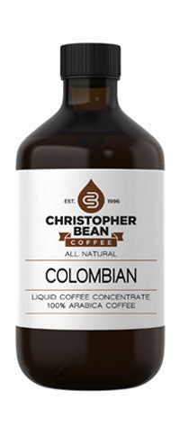 COLOMBIAN COLD BREW OR HOT LIQUID COFFEE CONCENTRATE - Handcrafted Artesian Specialty Gourmet And Flavored Coffee