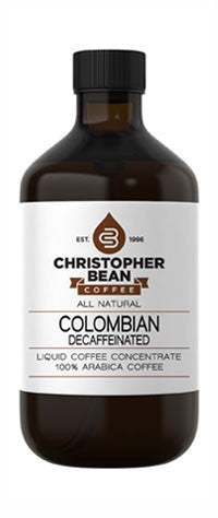 DECAFFEINATED COLOMBIAN COLD BREW OR HOT LIQUID COFFEE CONCENTRATE - Handcrafted Artesian Specialty Gourmet And Flavored Coffee