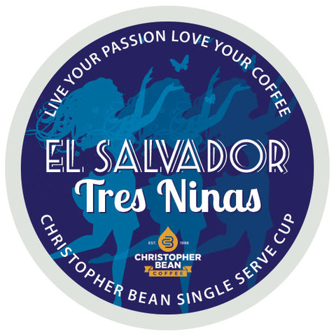El Salvador Tres Ninas Limited Edition Single Cup