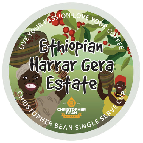 Ethiopian Hararr Gera Estate Limited Edition Single Cup